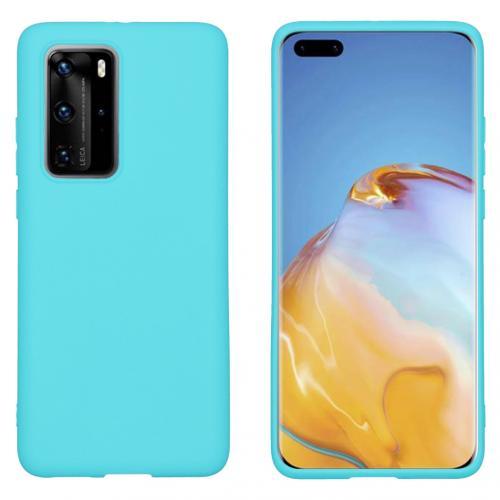 Color Backcover voor de Huawei P40 Pro - Mintgroen
