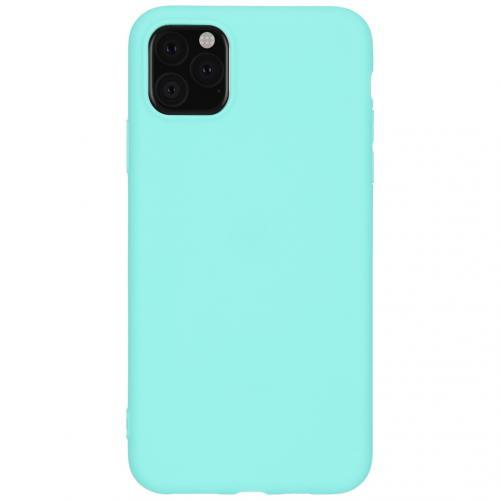 Color Backcover voor de iPhone 11 Pro Max - Mintgroen