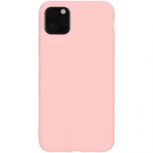 Color Backcover voor de iPhone 11 Pro Max - Roze