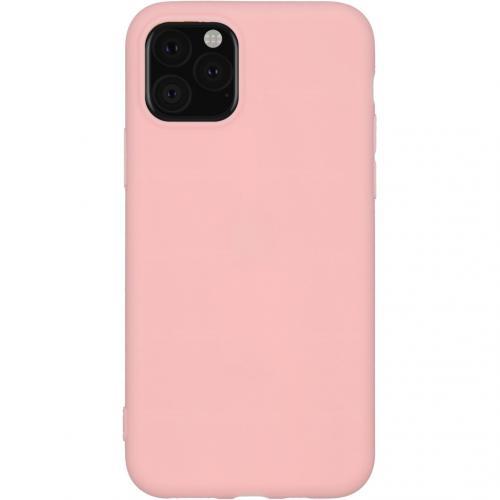 Color Backcover voor de iPhone 11 Pro - Roze