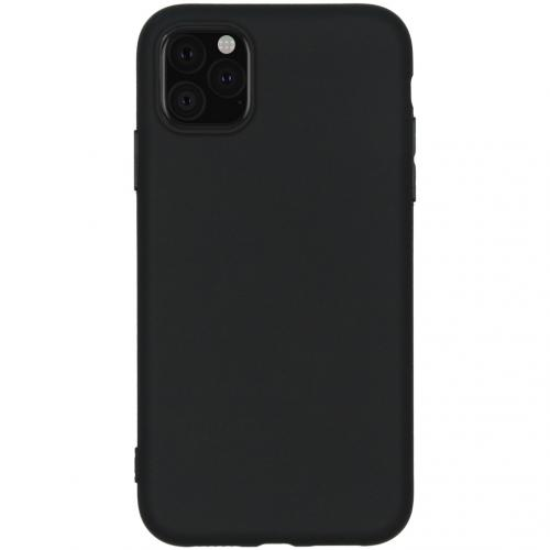 Color Backcover voor de iPhone 11 - Zwart