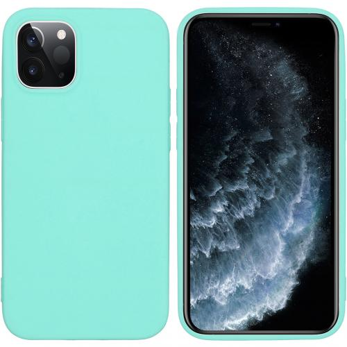 Color Backcover voor de iPhone 12 5.4 inch - Mintgroen