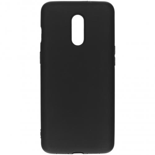 Color Backcover voor de OnePlus 7 - Zwart