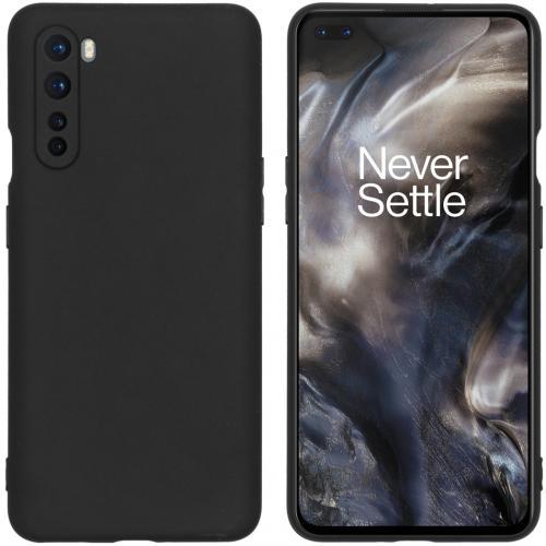 Color Backcover voor de OnePlus Nord - Zwart