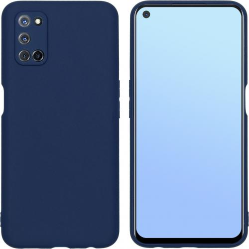 Color Backcover voor de Oppo A52 / Oppo A72 / A92 - Donkerblauw