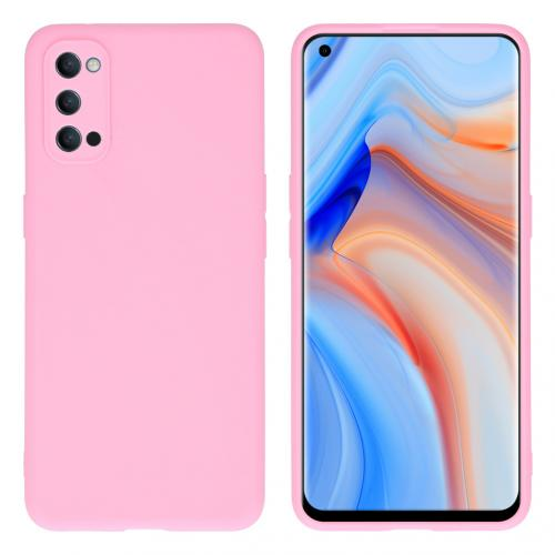 Color Backcover voor de Oppo Reno4 Pro 5G - Roze