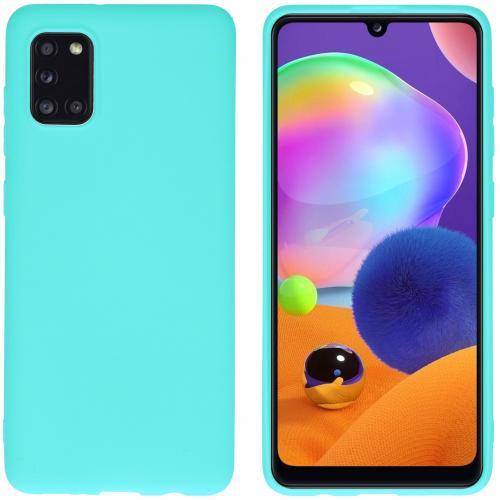 Color Backcover voor de Samsung Galaxy A31 - Mintgroen