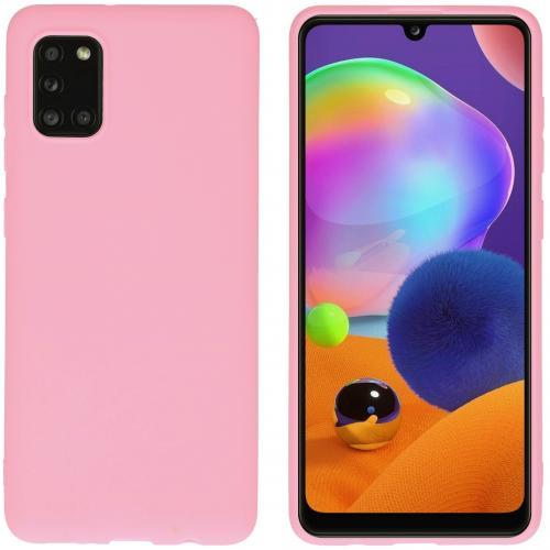 Color Backcover voor de Samsung Galaxy A31 - Roze