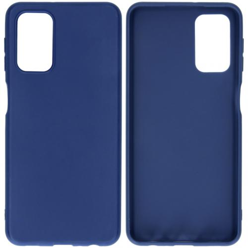 Color Backcover voor de Samsung Galaxy A32 (5G) - Donkerblauw