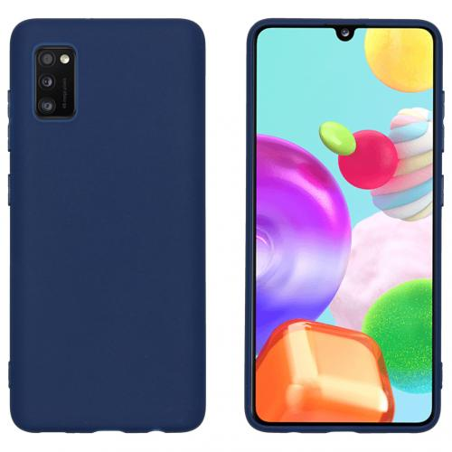 Color Backcover voor de Samsung Galaxy A41 - Donkerblauw