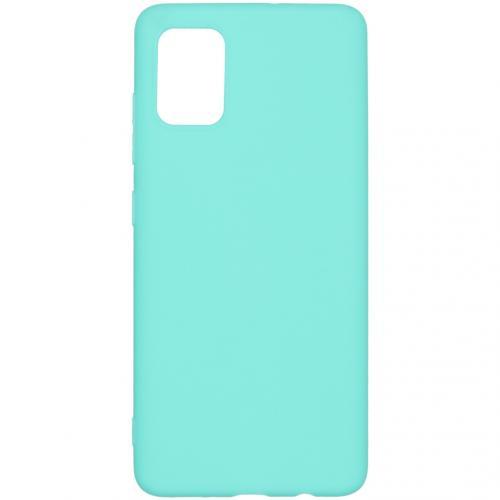 Color Backcover voor de Samsung Galaxy A51 - Mintgroen