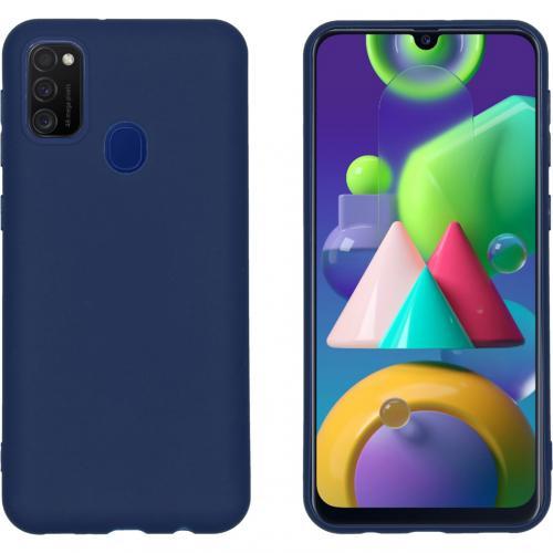Color Backcover voor de Samsung Galaxy M30s / M21 - Donkerblauw