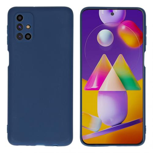 Color Backcover voor de Samsung Galaxy M31s - Donkerblauw