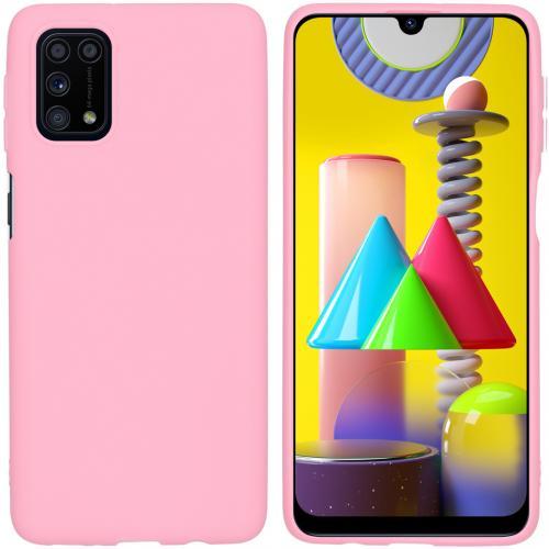 Color Backcover voor de Samsung Galaxy M31s - Roze
