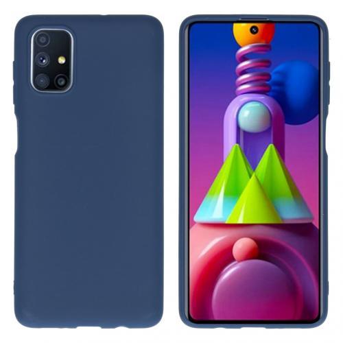 Color Backcover voor de Samsung Galaxy M51 - Donkerblauw