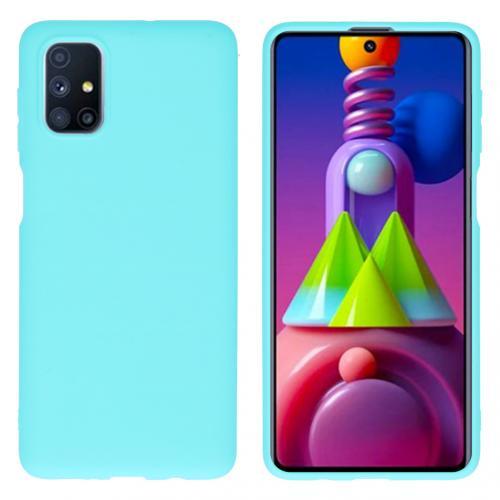 Color Backcover voor de Samsung Galaxy M51 - Mintgroen