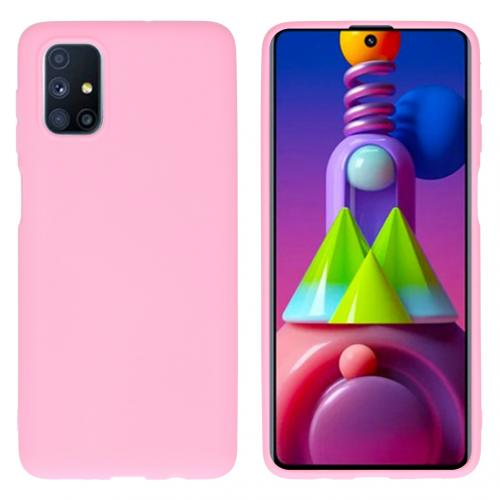Color Backcover voor de Samsung Galaxy M51 - Roze
