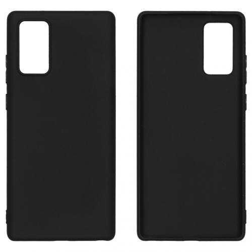 Color Backcover voor de Samsung Galaxy Note 20 - Zwart