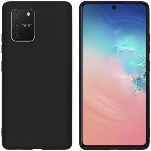 Color Backcover voor de Samsung Galaxy S10 Lite - Zwart
