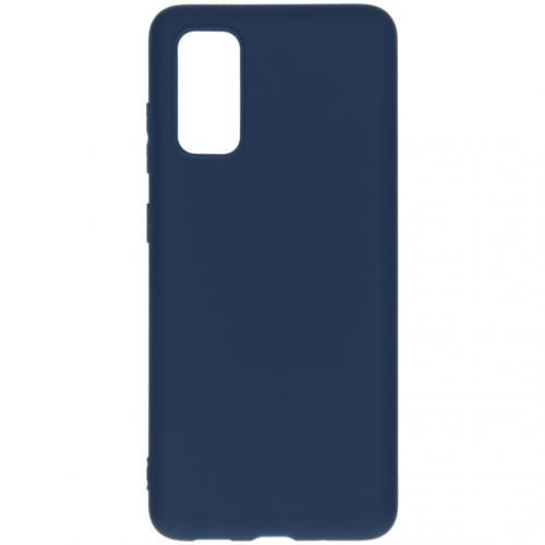 Color Backcover voor de Samsung Galaxy S20 - Donkerblauw