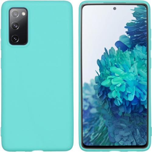 Color Backcover voor de Samsung Galaxy S20 FE - Mintgroen