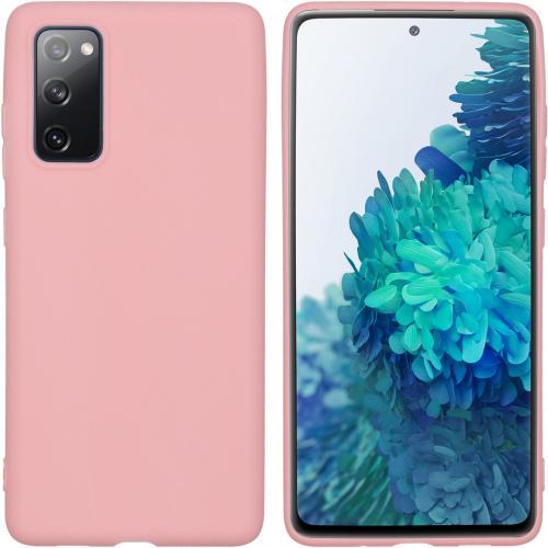 Color Backcover voor de Samsung Galaxy S20 FE - Roze