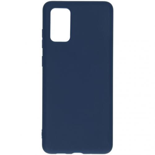 Color Backcover voor de Samsung Galaxy S20 Plus - Donkerblauw