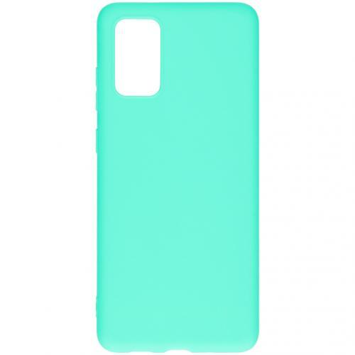 Color Backcover voor de Samsung Galaxy S20 Plus - Mintgroen
