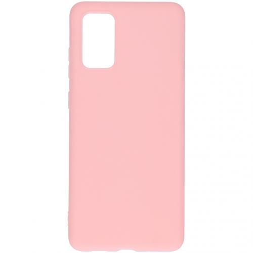 Color Backcover voor de Samsung Galaxy S20 Plus - Roze