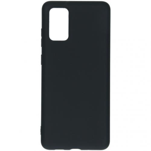 Color Backcover voor de Samsung Galaxy S20 Plus - Zwart