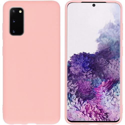 Color Backcover voor de Samsung Galaxy S20 - Roze