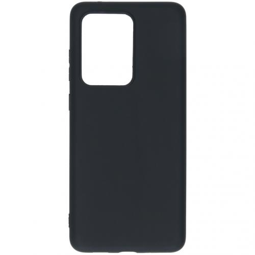 Color Backcover voor de Samsung Galaxy S20 Ultra - Zwart