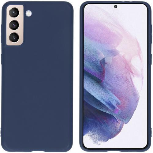 Color Backcover voor de Samsung Galaxy S21 Plus - Donkerblauw