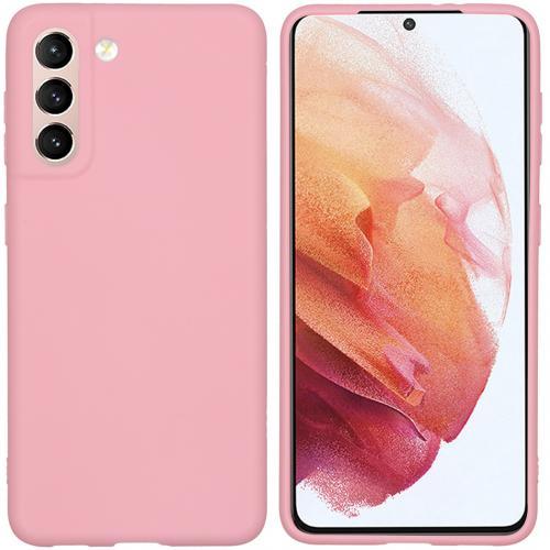 Color Backcover voor de Samsung Galaxy S21 - Roze