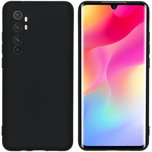 Color Backcover voor de Xiaomi Mi Note 10 Lite - Zwart