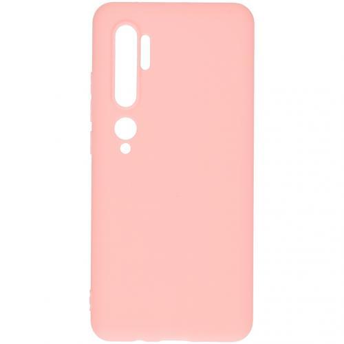 Color Backcover voor de Xiaomi Mi Note 10 - Roze