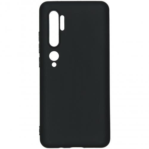 Color Backcover voor de Xiaomi Mi Note 10 - Zwart