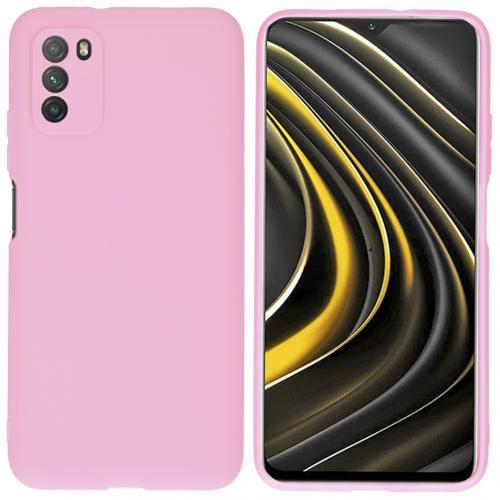 Color Backcover voor de Xiaomi Poco M3 - Roze