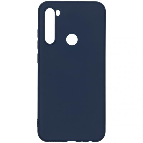 Color Backcover voor de Xiaomi Redmi Note 8 - Donkerblauw