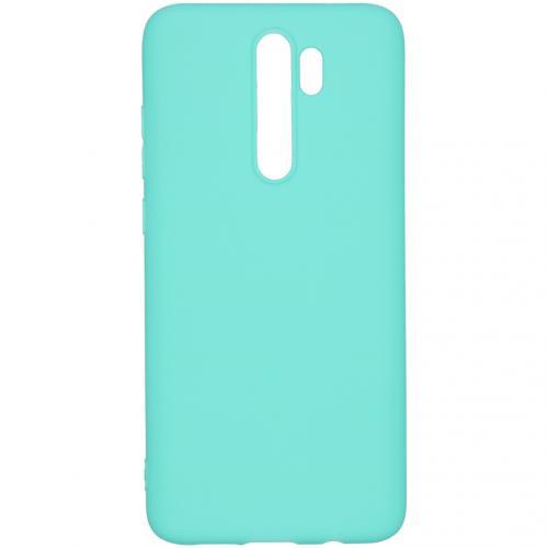 Color Backcover voor de Xiaomi Redmi Note 8 Pro - Mintgroen