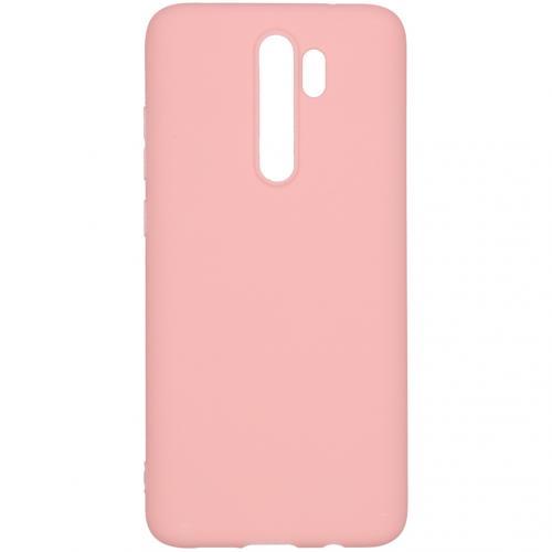 Color Backcover voor de Xiaomi Redmi Note 8 Pro - Roze