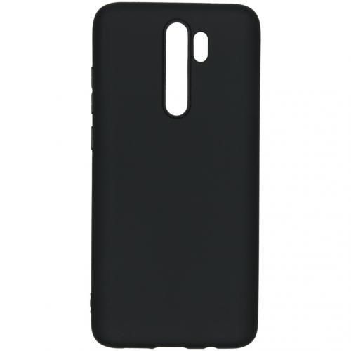 Color Backcover voor de Xiaomi Redmi Note 8 Pro - Zwart