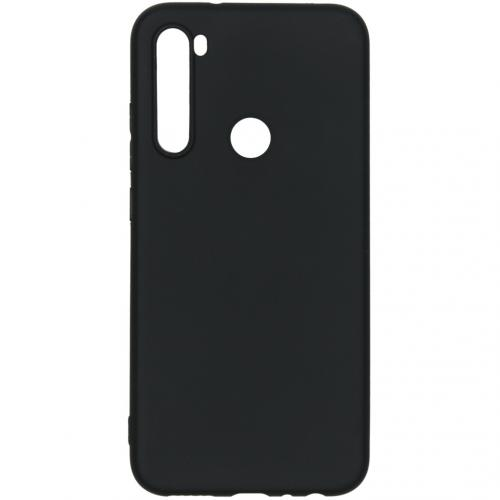 Color Backcover voor de Xiaomi Redmi Note 8 - Zwart