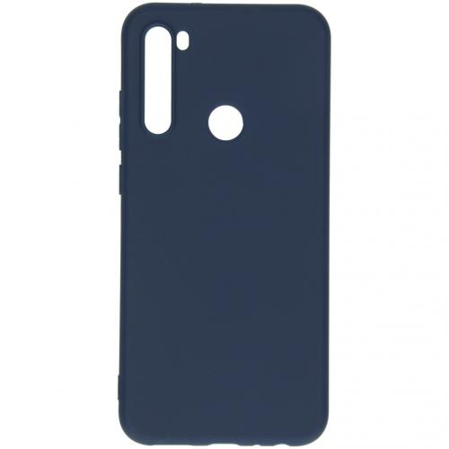 Color Backcover voor de Xiaomi Redmi Note 8T - Donkerblauw