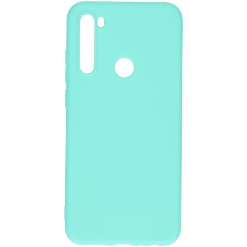 Color Backcover voor de Xiaomi Redmi Note 8T - Mintgroen