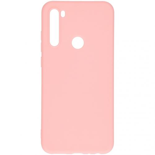 Color Backcover voor de Xiaomi Redmi Note 8T - Roze