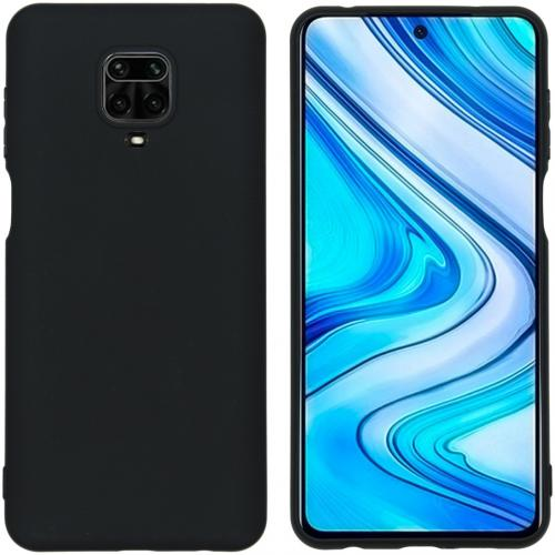 Color Backcover voor de Xiaomi Redmi Note 9 Pro / 9S - Zwart