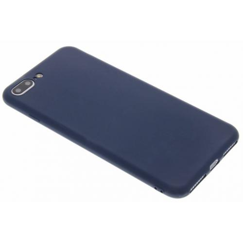 Color Backcover voor iPhone 8 Plus / 7 Plus - Donkerblauw