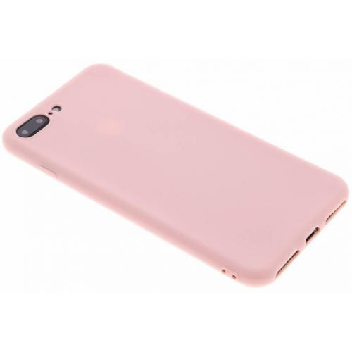 Color Backcover voor iPhone 8 Plus / 7 Plus - Roze