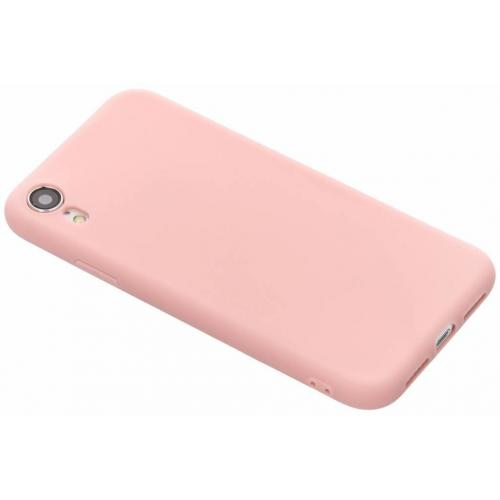 Color Backcover voor iPhone Xr - Roze